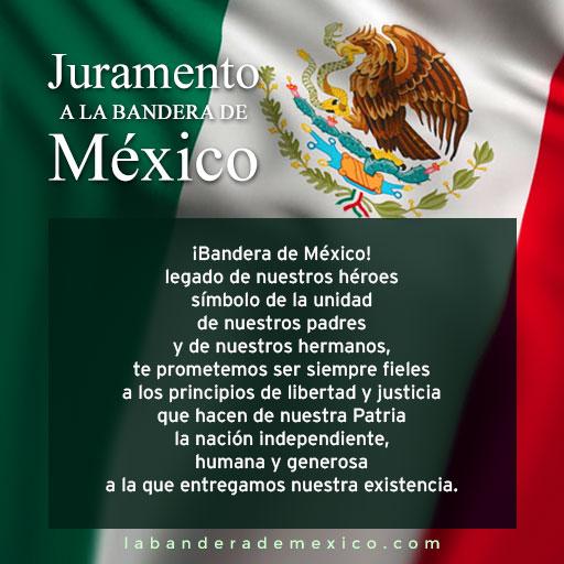 juramento a la bandera mexicana