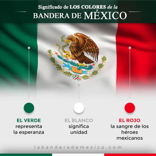 significado de los colores de la bandera mexicana